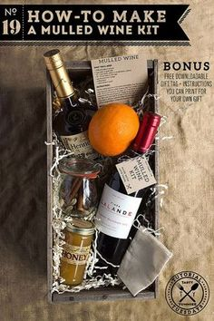 How-to Make a Mulled Wine Kit @tastyyummies More