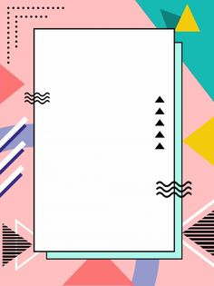 Polygonal cute wind memphis background style,advertising background,h5 background,colorful