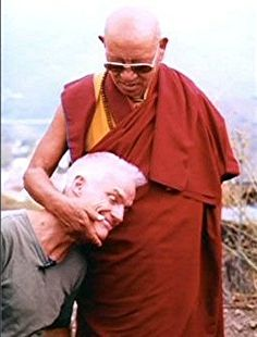Lama Ole Nydahl with one of his masters, Lopön Chechu Rimpoche #buddha