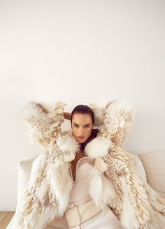Vogue Portugal January 2018 Alessandra Ambrosio by Branislav Simoncik