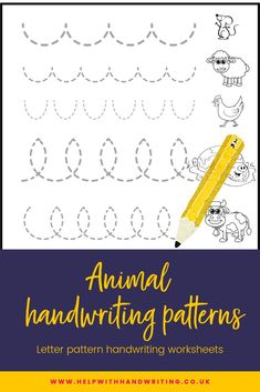 Does your child have messy handwriting? Have they moved onto writing letters and not done many handwriting pattern worksheets? Handwriting patterns should be mastered before writing letters yet often this is forgotten about. Complete these 7 pages of letter patterns and your child will improve their letter writing skills. There are 42 images to collect, will your child be able to do this? Handwriting for kids teaching. #writingpatternsactivities #handwritingpatternsideas