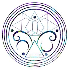 Intuition mandala symbol www.thefifthelementlife.com