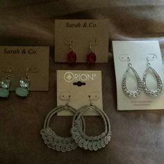 4 bran new pairs of earings Fashion earings bran new never used Jewelry Earrings