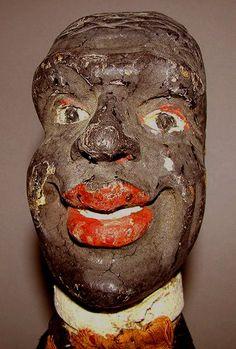 Puppet head Folk Art