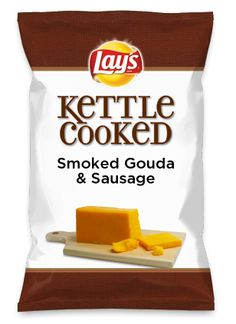Wouldn't Smoked Gouda & Sausage be yummy as a chip? Lay's Do Us A Flavor is back, and the search is on for the yummiest flavor idea. Create a flavor, choose a chip and you could win $1 million! https://www.dousaflavor.com See Rules.