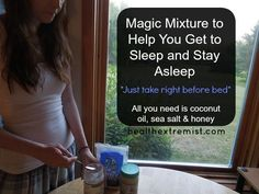 How to Stay Asleep All Night by Taking 3 Natural Ingredients