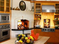 My dream kitchen is a combination of Michael Chiarello's and Paula Deen's home kitchens