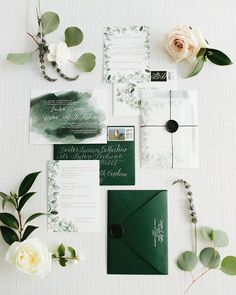 Loved seeing this green foliage watercolor wedding invitation suite and beautifu. Loved seeing this green foliage watercolor wedding invitation suite and beautifu. Country Wedding Invitations, Wedding Invitation Design, Wedding Stationary, Beautiful Wedding Invitations, Rustic Wedding Stationery, Watercolor Wedding Invitations, Diy Invitations, Invitation Cards, Wedding Details