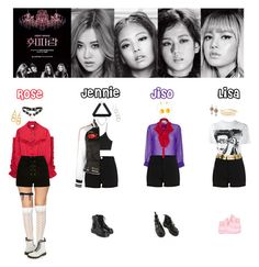 """BLACK PINK - WHISTLE❤️"" by mabel-2310 on Polyvore featuring Alexander Wang, River Island, Wet Seal, Gucci, McQ by Alexander McQueen, Moschino, Dr. Martens, Gurhan, Chanel and Konstantino"
