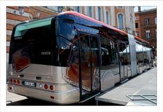 Le Tram'bus nimois à Toulouse Bus Travel, Mode Of Transport, Coaches, Buses, Tango, Transportation, Innovation, Public, Future