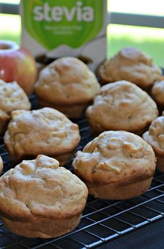 """Diabetic-Friendly Apple Muffins 