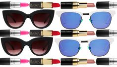 Keep your shades coordinated with your pout all season long.