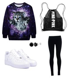 """""""Here Kitty Kitty kitty """" by hous15 on Polyvore featuring NIKE"""