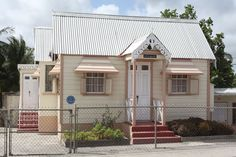 Another chattel house in Barbados