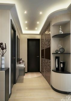 Hallway with wardrobe- Прихожая со шкафом-купе Hallway with wardrobe -