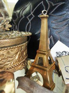Brass Eiffel Tower