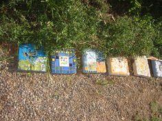 2010 series of garden border stones #1