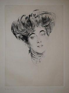 Giovanni Boldini (Ferrara 1842 – Parigi 1931) Ritratto della Contessa d'Orsay, 1902 ca