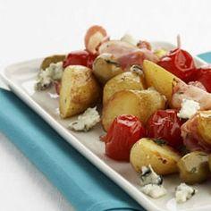 Geroosterde aardappeltjes met ontbijtspek - - Recepten - - Kazen van bij Ons
