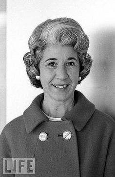 Mary Gallagher was Jackie's private secretary from the time she became First Lady until she moved to New York.  Gallagher wrote a tell-all book about her years with Jackie.   There is speculation that she has Jackie's pink hat from Dallas (which is officially missing), but if she does, she's not telling.