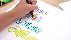 Watch this video to learn more about the Brit + Co online class, Lettering for Lefties.