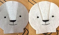 DIY: Sewing a doll face for a fabric doll