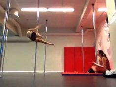 Amazing pole dancing skills... this is my inspiration! one day i want to be like this!!!