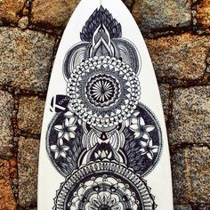 Art Surfboard - Mandala Surf