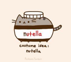 Pusheen the Cat - Nutella Costume