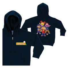 Sid the Science Kid Magnify Navy Zip-up Hoodie