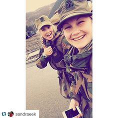 Warm up to norwegian military gals 83 photos military repost from norwegian female soldier sandraeek showing two happy girls siste velsen i latvia gjennomfrt n gjenstr vedlikehold og dim 2bn ccuart