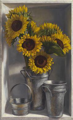 Denise Mickilowski, Sunflowers