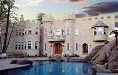 Dream home - yes a modern castle