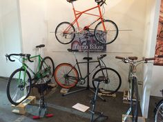 Tomo Bikes Spin London stand