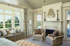 DIY Faux Window Casings  http://providenthomedesign.com/2014/07/25/diy-exaggerated-window-mouldings/
