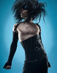 Mens gothic fetish corset