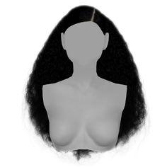 Angela Hair by Gramsims