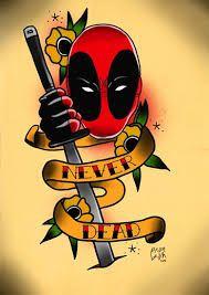 Resultado de imagem para deadpool tattoo