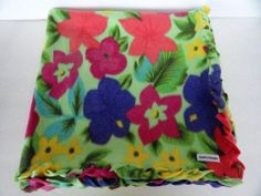 Wheelchair Small Lap Robe Quilt Blanket Fleece by SewProDesigns, $22.00