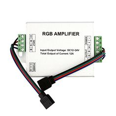 EPBOWPT DC 1224V 12A Data Repeater LED RGB Signal Amplifier for SMD 3528 5050 LED Strip Light ** This is an Amazon Affiliate link. Learn more by visiting the image link.