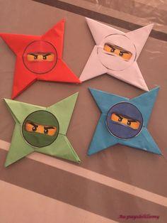 Lego Ninjago, Ninjago Party, Ninja Birthday Parties, Lego Birthday, Pirate Birthday, Festa Ninja Go, Crafts For Kids, Summer Crafts, Diy Crafts Hacks