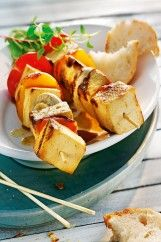 Orange-Apricot-Tofu Skewers