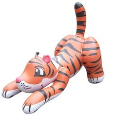 Inflatable Baby Tiger at theBIGzoo.com, an animal-themed superstore.