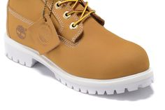 Timberland Authentic Classic Waterproof Oxford 23061 Shoes-Wheat White For Women Market Price:$94.99
