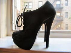 36d5ca6c Magníficos Zapatos de tacón alto Zapatos De Tacón Medio, Imágenes De Zapatos,  Zapatos Calientes