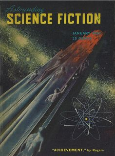 Adventures in Science Fiction Cover Art: The Power of the Atom!