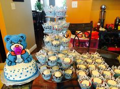 Baby shower cakes.