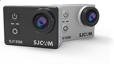 SJCAM SJ7 STAR 4K 12MP 2 Touch Screen Metal Body Gyro Action Camera BLACK | Action Cameras And Accessories