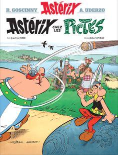 La couverture d'Astérix chez les Pictes