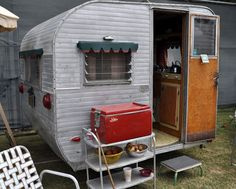 love the cart!  the little awnings~just a doll